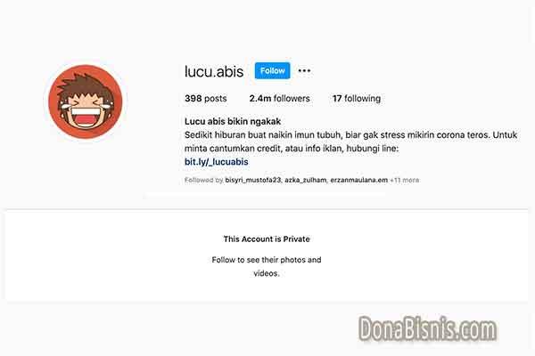 bio instagram lucu