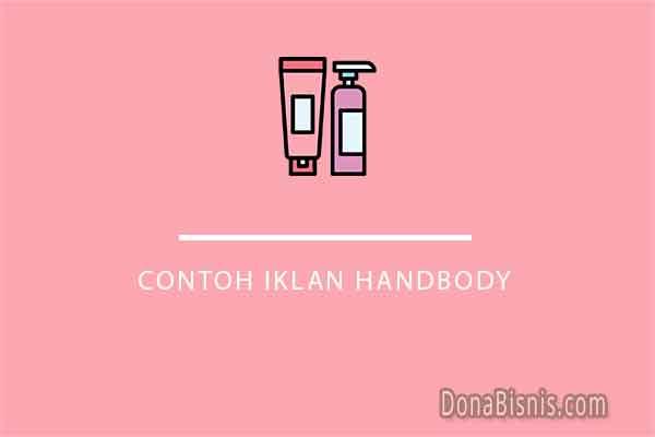 contoh iklan handbody