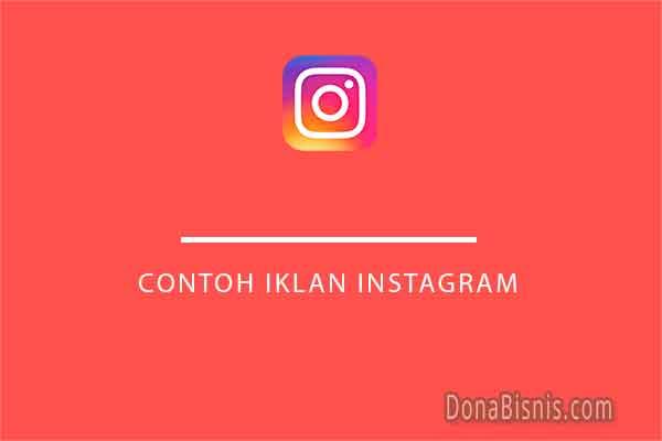 contoh iklan instagram