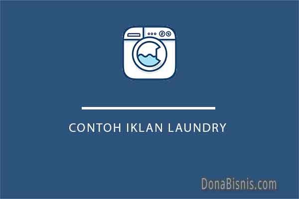 contoh iklan laundry