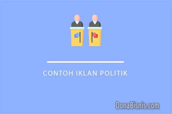 contoh iklan politik