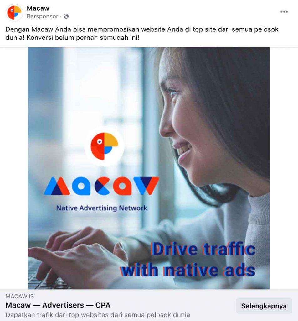 iklan facebook ads gambar