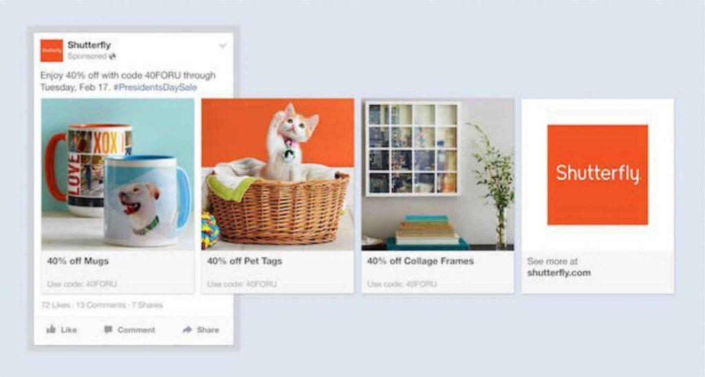iklan facebook ads multi product