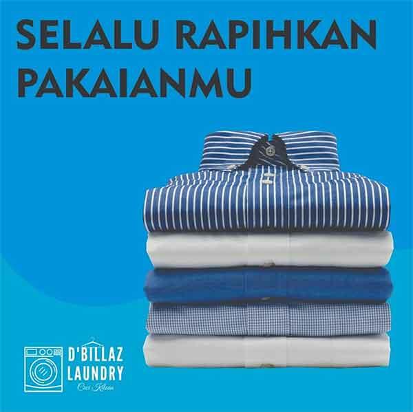 iklan laundry baju
