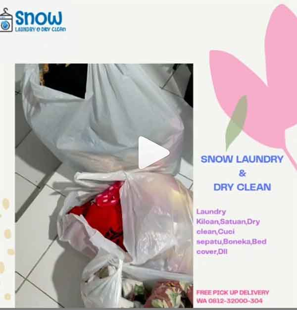 iklan laundry dry cleaning