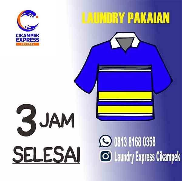 iklan laundry seragam perusahaan