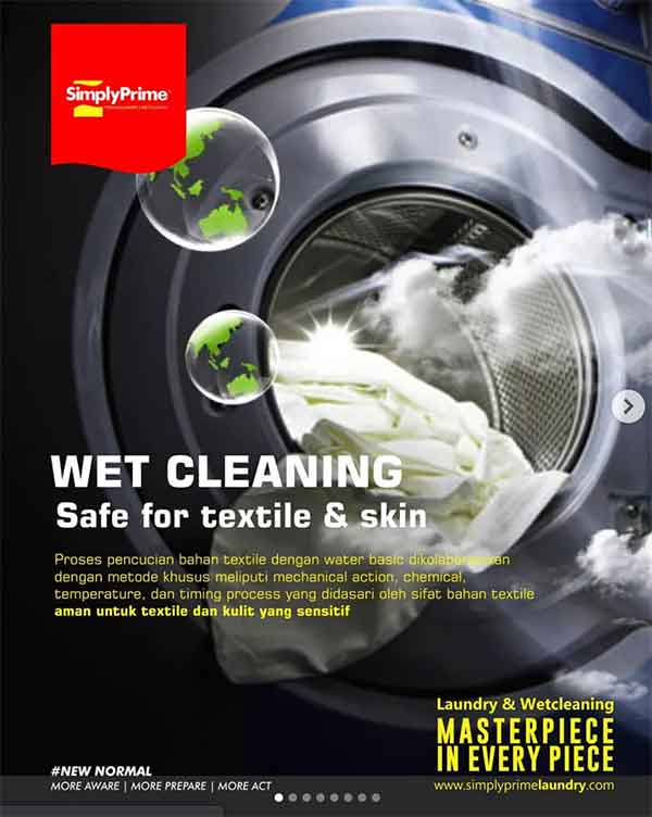 iklan laundry wet cleaning