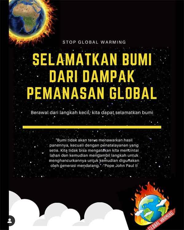 iklan layanan masyarakat global warming
