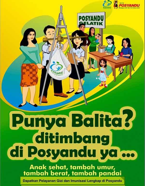 iklan layanan masyarakat posyandu