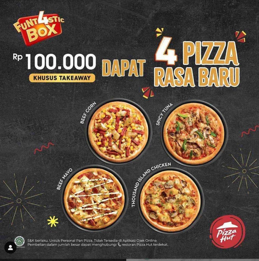 iklan makanan pizza