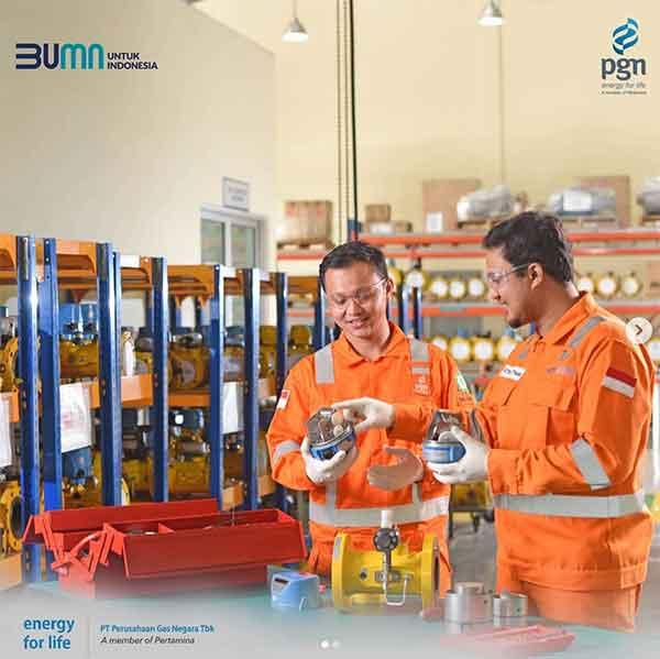 iklan perusahaan gas negara