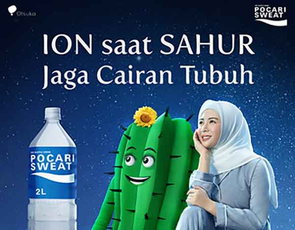 iklan pocari sweat ayana moon