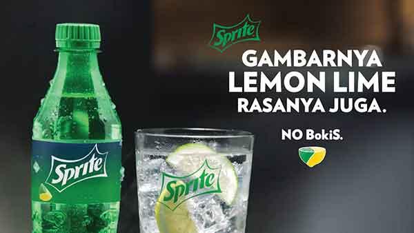 iklan sprite gambarnya lemon lime rasanya juga