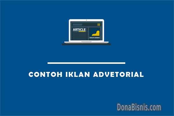 contoh iklan advetorial