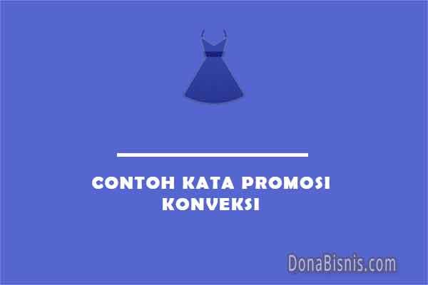 contoh kata promosi konveksi