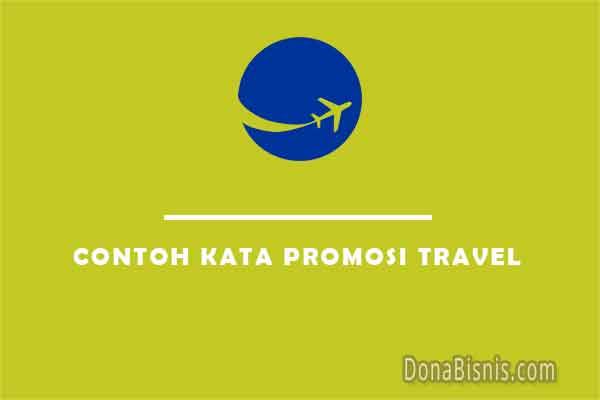 contoh kata promosi travel