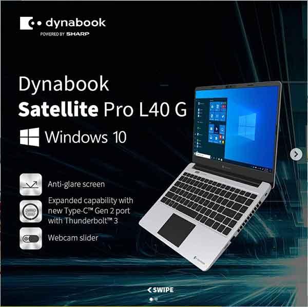 iklan elektronik laptop