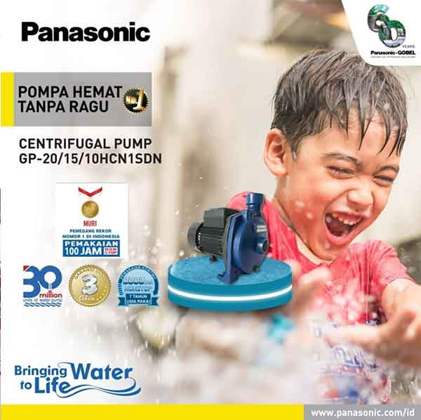 iklan elektronik pompa air