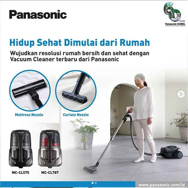 iklan elektronik vacuum cleaner