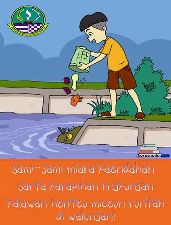 iklan bahasa sunda lingkungan