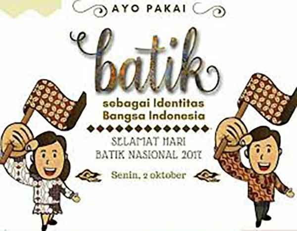 iklan batik kartun