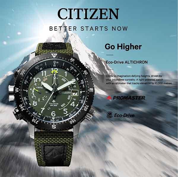 iklan jam tangan citizen