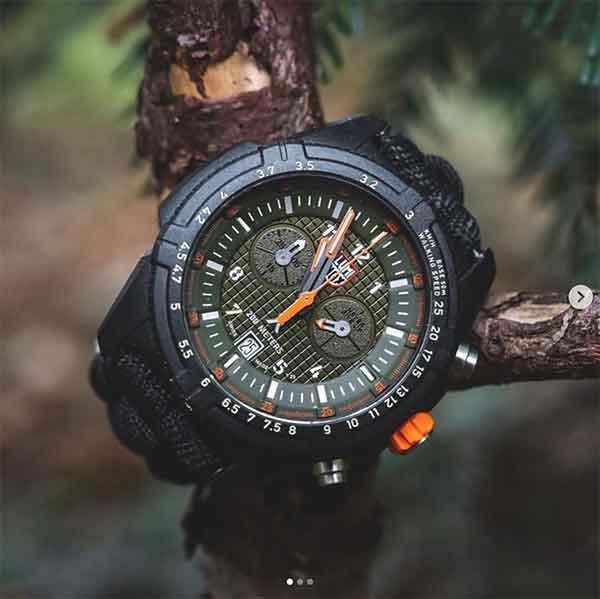 iklan jam tangan luminox