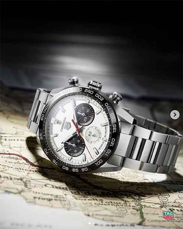 iklan jam tangan tag heuer