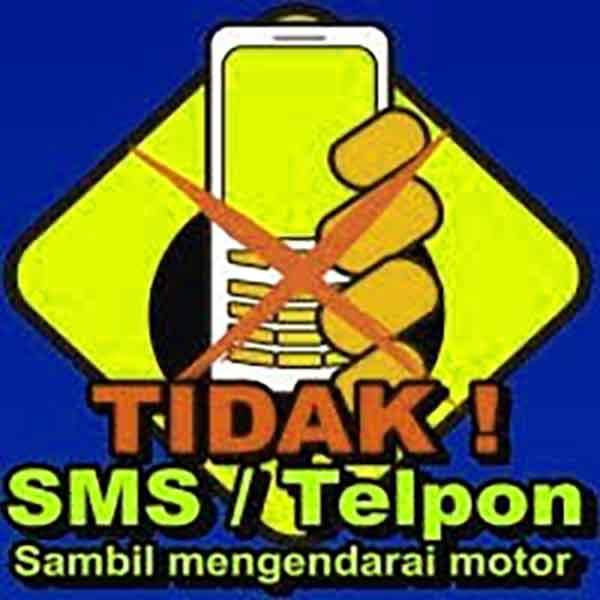 iklan larangan sms telepon