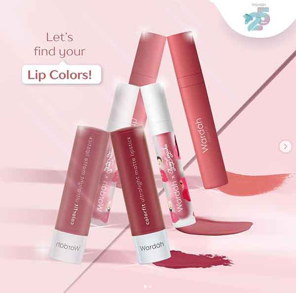 iklan lipstik wardah