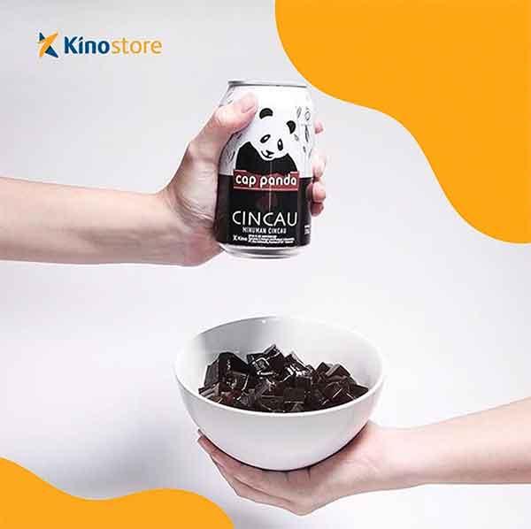 iklan minuman cincau cap panda