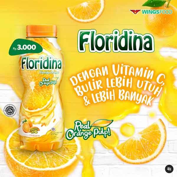 iklan minuman floridina