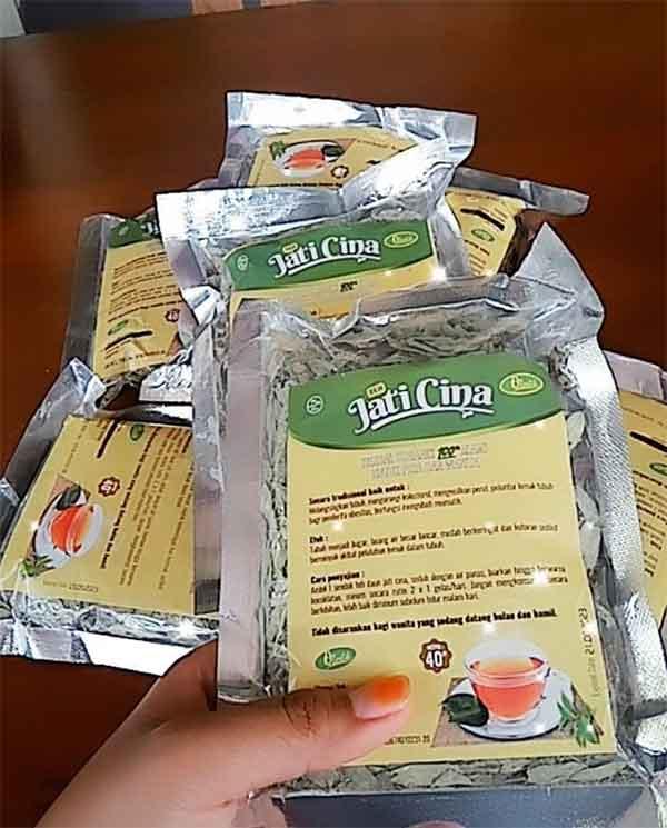 iklan teh herbal