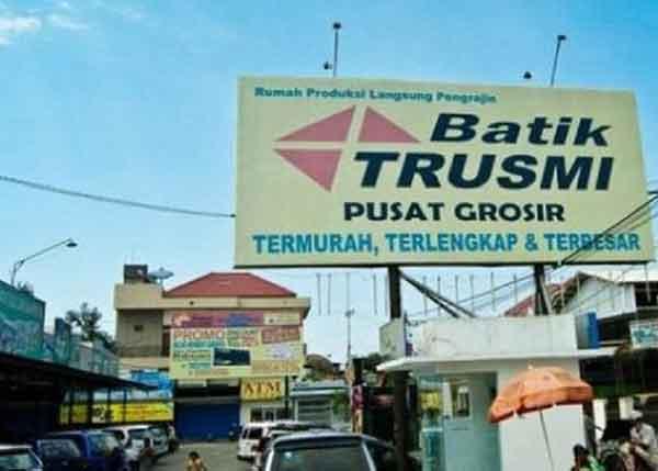 reklame batik