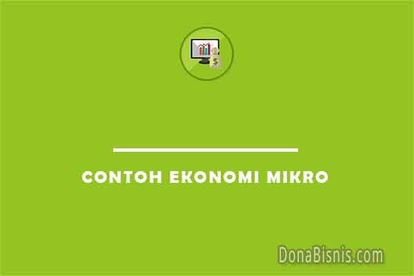 contoh ekonomi mikro
