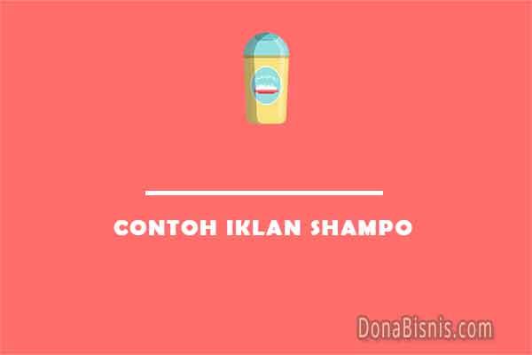 contoh iklan shampo
