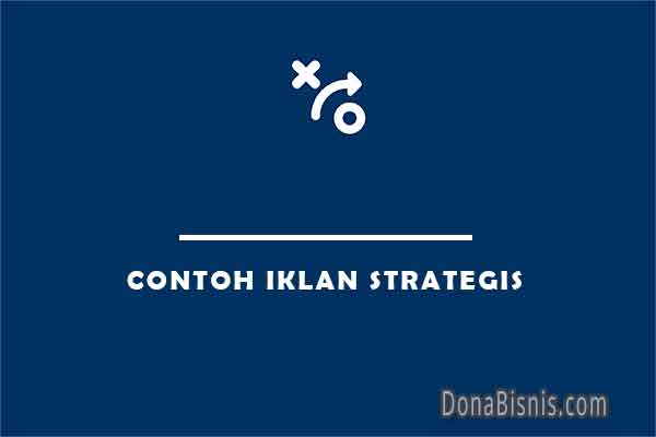 contoh iklan strategis