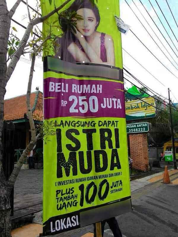 contoh iklan yang lucu
