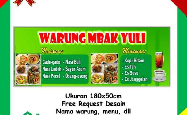 iklan banner makanan