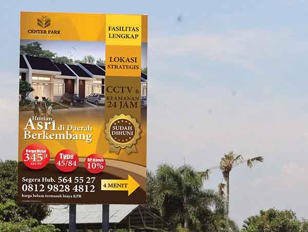 iklan banner rumah
