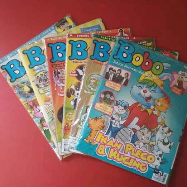 iklan majalah bobo