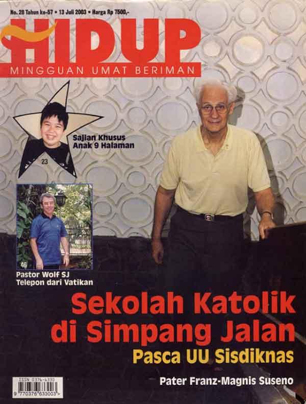 iklan majalah hidup