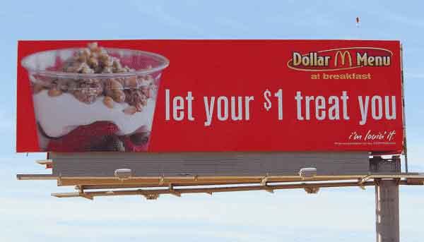 iklan reklame bahasa inggris