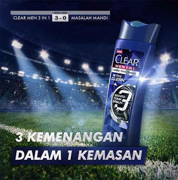 iklan shampo clear