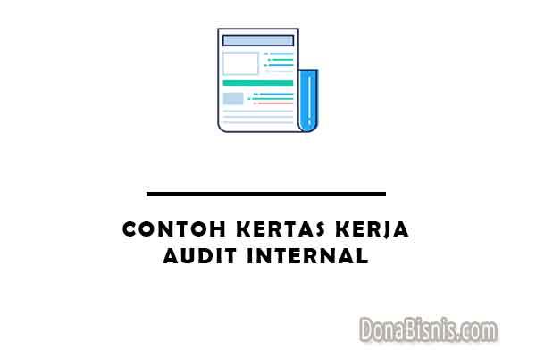 contoh kertas kerja audit internal