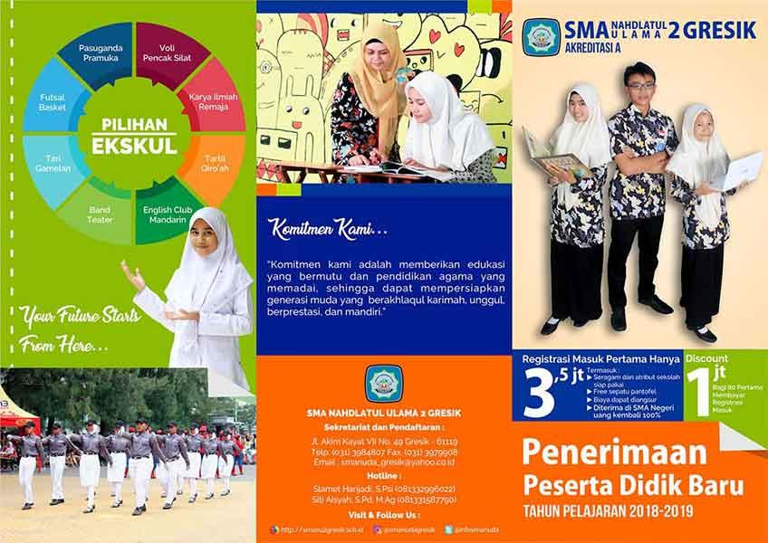 brosur sekolah