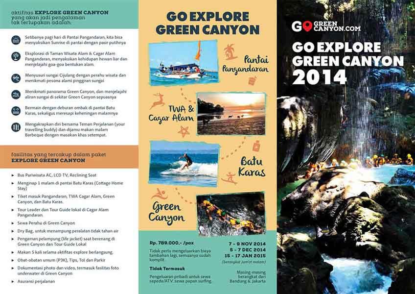 brosur wisata
