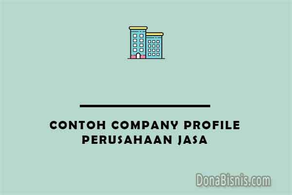 contoh company profile perusahaan jasa