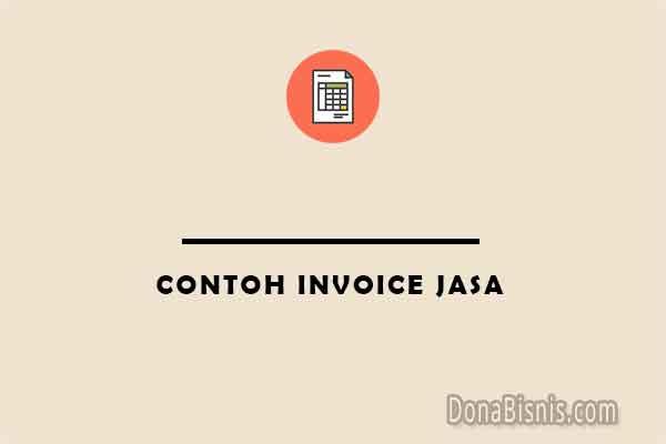 contoh invoice jasa