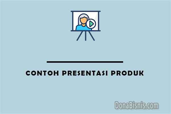 contoh presentasi produk